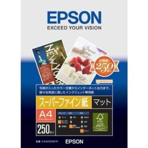 エプソン 写真用紙 スーパーファイン紙 マット A4 KA4...