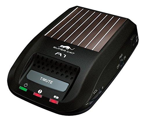 ユピテル レーダー探知機 A1 一体型/ソーラータイプ/コンパクト