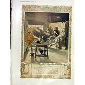 ホモのクリスマスイブの食事の Devonshire の Ashen 印刷物 1913 年