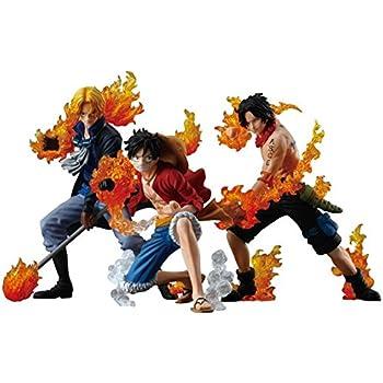 食玩 ワンピーススタイリング ATTACK STYLING 炎の3兄弟 全3種セット