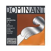 DOMINANT ドミナント コントラバス弦 A線 シンセティックコア 3/4 クロム巻 192