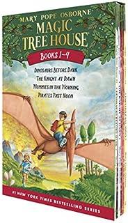Magic Tree House Books 1-4 Boxed Set (Magic Tree House (R))