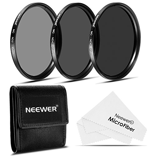 NEEWER 37MM減光(ND)フィルターセット (ND2 ND4 ND8)+クリーニングクロス Olympus PEN E-PL2 E-PL3 E-PL5 E-PL6 OM-D E-M10コンパクトカメラw//14-42mm f/3.5-5.6 IIズームレンズに対応 並行輸入品