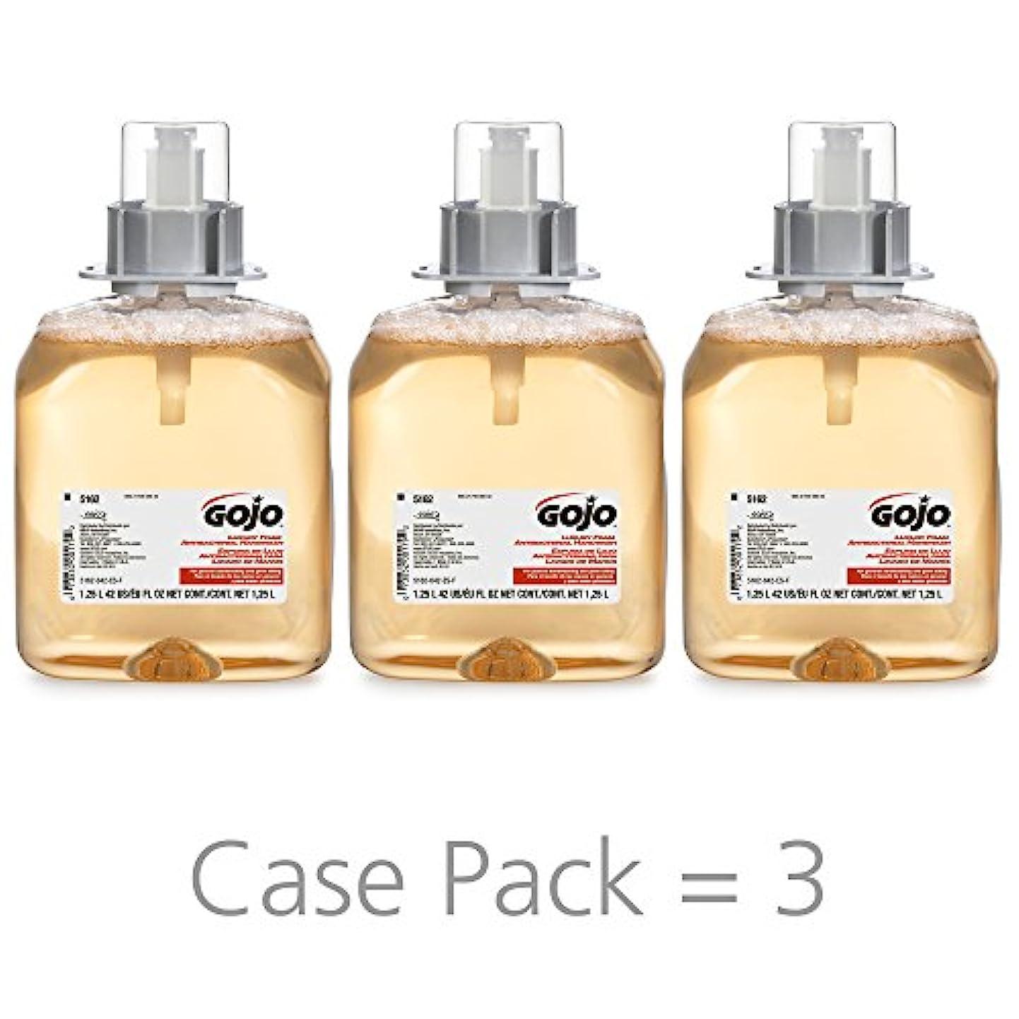 お金ゴム確執プロペラGOJO 516203CT FMX-12 Foam Hand Wash, Fresh Fruit, FMX-12 Dispenser, 1250mL Pump, 3/Carton by Gojo