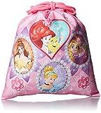 [ディズニーバッグ] DISNEY BAG Disney PRINCESS プリンセス 巾着(小) D1366 ピンク (ピンク)
