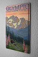 [ZUNYI]ブリキ 看板冒険家オリンピック国立公園壁の装飾、家、パブ、ビール、ガレージ、庭、コーヒー[30x40cm]
