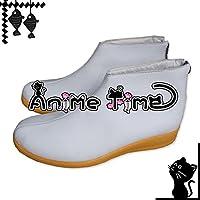 ●●サイズ選択可●●女性22.5CM MJP1098 コスプレ靴 ブーツ VOCALOID 鏡音リン・鏡音レン