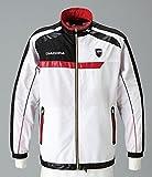diadora (ディアドラ) テニス ウェア メンズ ジャケット TEAMウーブンジャケット TW4183-9099 ホワイト×ブラック 9099 M
