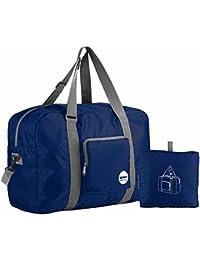 WANDF 折り畳みボストンバッグ 超軽量バック 防水ナイロントートバッグ アウトドア 旅行 ジム キャンプ