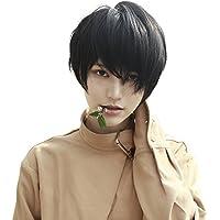 (インマン) INMAN フルウィッグ ウィッグ かつら ショート 5色 短髪 金髪 ストレート ファッション ゆるふわ 自然 原宿 高品質 耐熱 ネット付き 男女兼用
