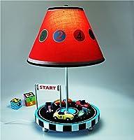 Wenbo home-クリエイティブ車ランプ寝室ベッドサイドChildren ' s RoomランプCute Cartoon寮ライト暖かいギフト–デスクトップランプ