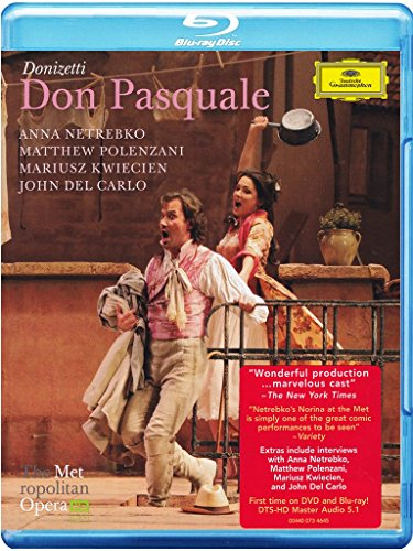 Donizetti: Don Pasquale (The Metropolitan Opera) [Blu-ray] [Import]