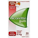 Nicorette Gum Fresh Fruit 4mg 30