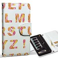 スマコレ ploom TECH プルームテック 専用 レザーケース 手帳型 タバコ ケース カバー 合皮 ケース カバー 収納 プルームケース デザイン 革 ユニーク アルファベット 英語 文字 006654