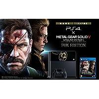 PlayStation4 × METAL GEAR SOLID V GROUND ZEROES FOX EDITION