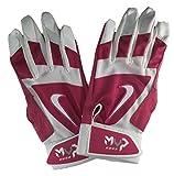 ナイキ 野球用品 ナイキMVPエッジ大人用バッティング手袋Mサイズピンク/ホワイト