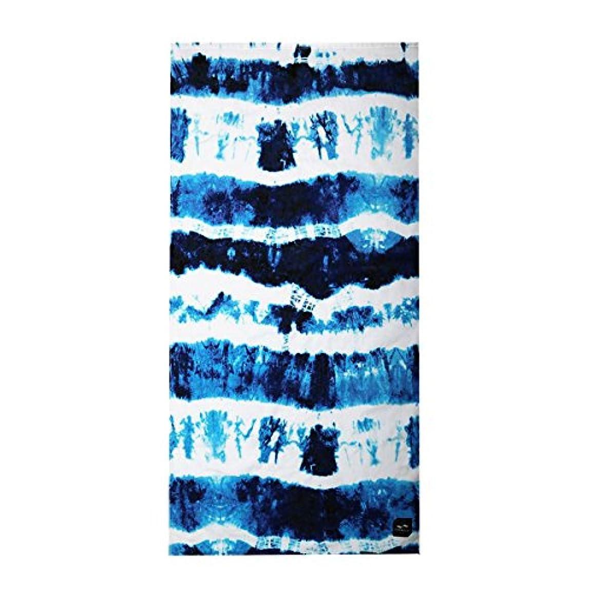 季節恐怖症本質的に[スロウタイド] SLOWTIDE 正規品 ビーチタオル INDIGO SUN BEACH TOWEL ST033 NAVY (コード:4125699719-1)