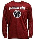 NBA公式ライセンスグッズ TC Space Dye L/S 赤/ウィザーズ (L)