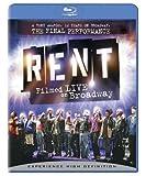 Rent: Filmed Live on Broadway [Blu-ray] [Import]