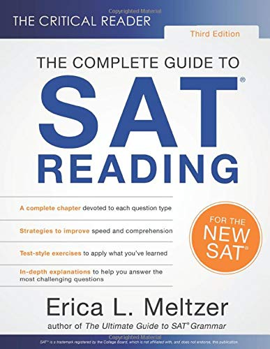 Download The Critical Reader, 3rd Edition: The Complete Guide to SAT Reading 0997517875