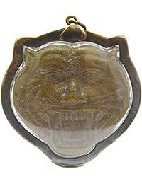 TigerジュエリーアミュレットMagicヤントラTiger LP Pern Wat Bang Phra強力なThai Buddha Wealth Amulet