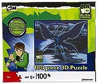 Ben 10 Alien Force: Big Chill 3D Holographic 100 Piece Puzzle [並行輸入品]