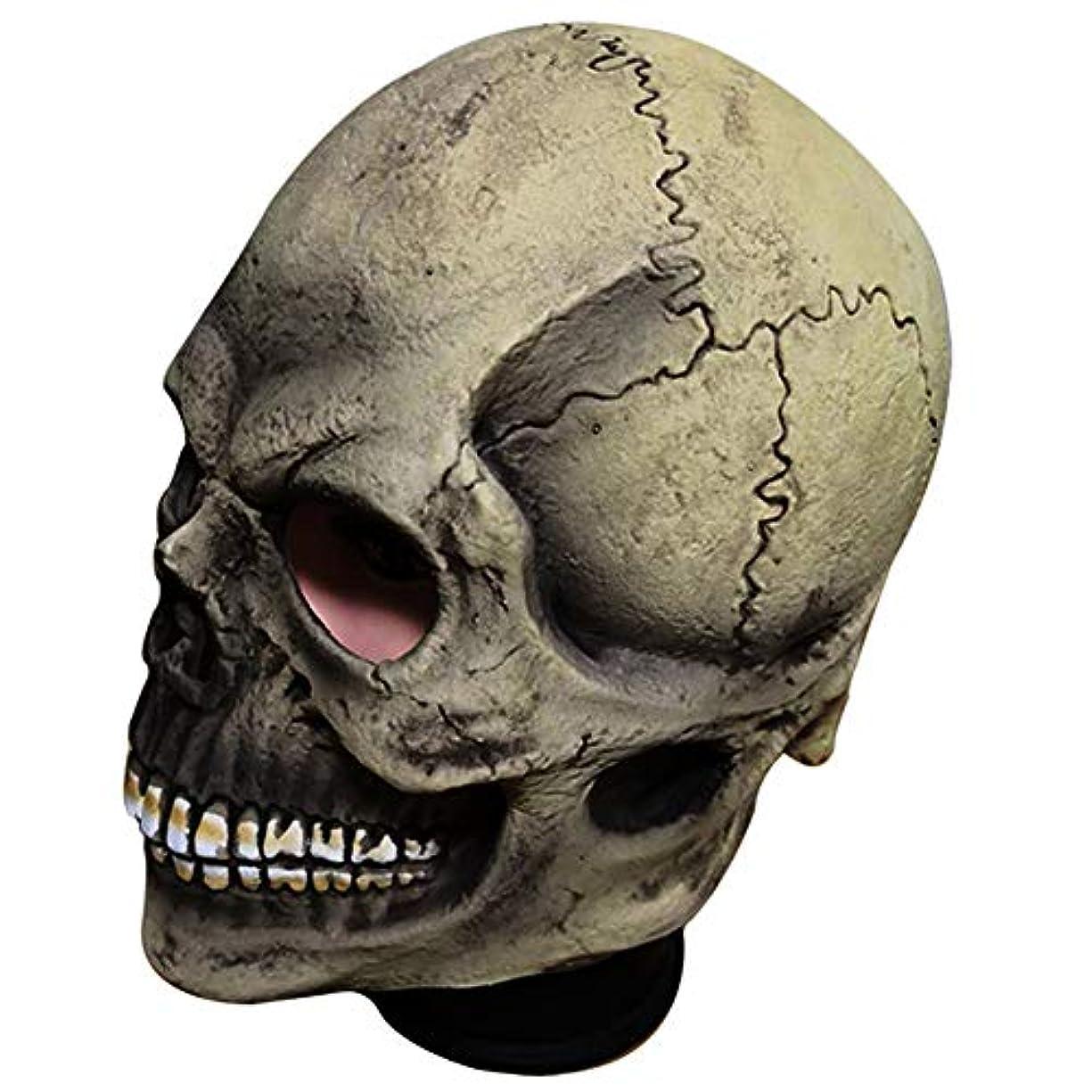 予防接種する説教する溶かすハロウィーンマスク、スカルラテックスマスク、ハロウィーン、テーマパーティー、カーニバル、レイブパーティー、バー、小道具、映画。