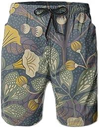 花柄 メンズ サーフパンツ 水陸両用 水着 海パン ビーチパンツ 短パン ショーツ ショートパンツ 大きいサイズ ハワイ風 アロハ 大人気 おしゃれ 通気 速乾