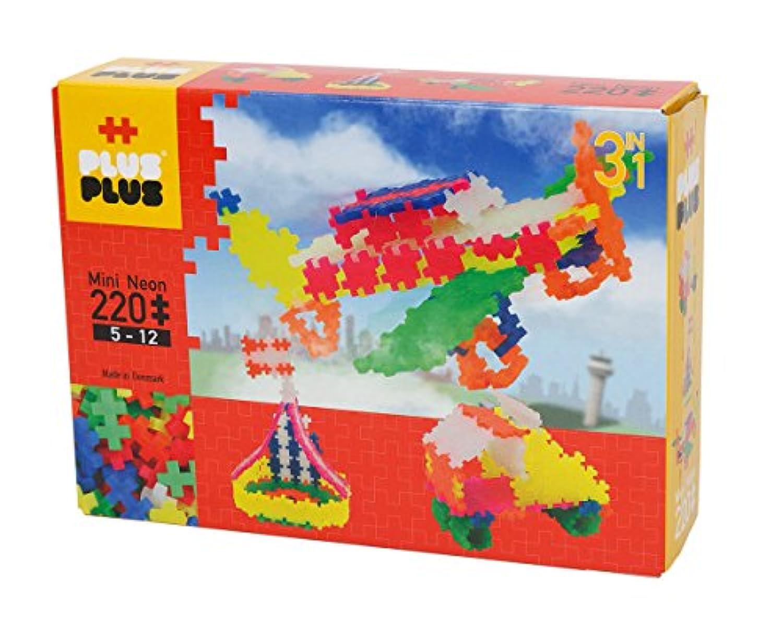 PLUSPLUS(プラスプラス)mini(ミニ)3in1 220pcs/ネオン
