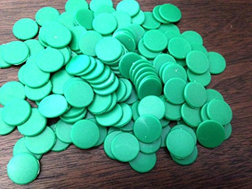 シャッター時代遅れ隔離するBaoblaze ポーカーチップ ゲーム用 カジノチップ 18mm 不透明 プラスチック製 グリーン 約200個セット