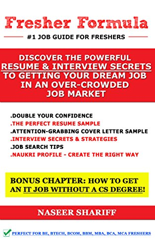 amazon co jp fresher formula discover the powerful resume and