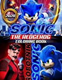 Sonic The Hedgehog Coloring Book: Sonic 2020 Coloring Book With Newest Unofficial Images Based On 2020 Movie