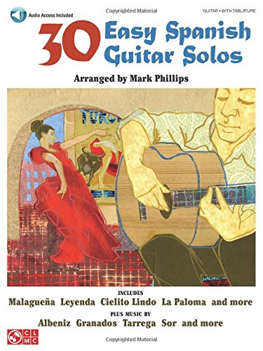 30 Easy Spanish Guitar Solos: ...