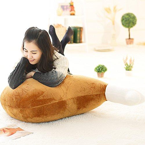 ZooooM もちもち 面白 おもしろ 骨 付き 肉 にく クッション 抱き 枕 ( 60 cm サイズ ) ZM-AC1978-060