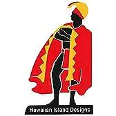 ハワイアン雑貨/ハワイ雑貨 HID アイランドデザイン ステッカー(カメハメハ大王) 【お土産】