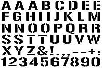 【font-1】ステンシル風カッティングステッカー