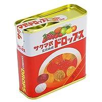 【サクマ】サクマ式ドロップス 赤缶 キャンディ