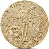 ToginAnle 聖ミシェル大聖堂記念コインコレクションギフトお土産アートメタルアンティーク