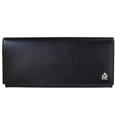 [ダンヒル]dunhill 二つ折り長財布 BELGRAVE ベルグレイブ ブラック L2S810A [並行輸入品]