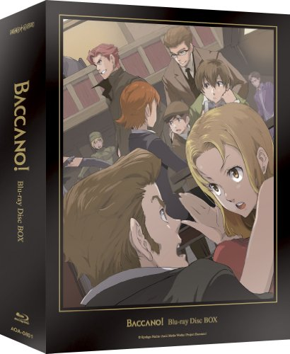 Baccano! Blu-ray Disc BOX Limited Edition (While supplies last)
