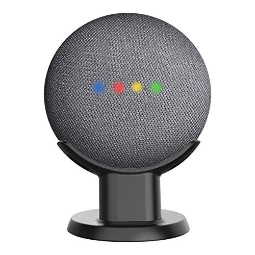 Wigoo Google Home Mini/Nest Mini 卓上スタンド Home Mini デスク ホルダー Google Home Mini マウント テーブル スタンド (卓上スタンド ブラック)
