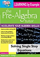 Solving Single Step Equations [DVD] [Import]