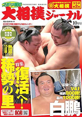 スポーツ報知 大相撲ジャーナル2018年10月号 秋場所決算号