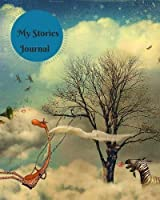 My Stories Journal: Kids Writing Lined Journal Diary Notebook with Blank Drawing Boxes For Children to Draw Write and Doodle Ruled Notepad Jotter (Childrens Writing Book) (Volume 12) [並行輸入品]