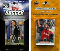 MLS Real Salt Lake 2異なるLicensed Tradingカードチームセット