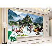 Ansyny 3Dの壁紙/注文の写真の壁紙/ 8図の景色の絵画/壁画/Tv/ソファー/寝室/Ktv/ホテル/居間/子供部屋-260X175CM