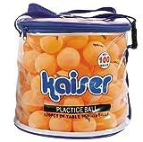 カイザー(kaiser) 卓球 ボール 100P セット ケース付 レジャー ファミリースポーツ KW-252
