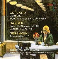Music By Copland Barber & Gershwin