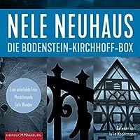 Die Bodenstein-Kirchhoff-Box (3 Hoerbuecher): Eine unbeliebte Frau - Mordsfreunde - Tiefe Wunden