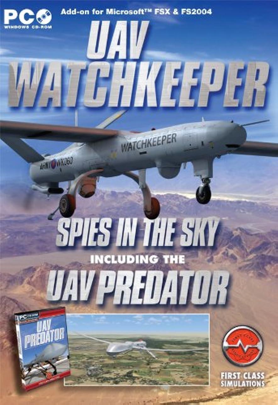 UAV Watchkeeper Add-on for Microsoft Flight Simulator FS2004 and FSX (輸入版)